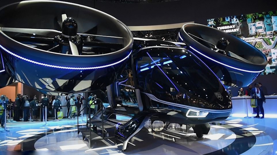 15 HIGH TECH AND EXTREMELY AWE-INSPIRING CARS SPOTTED AT CES 2019!