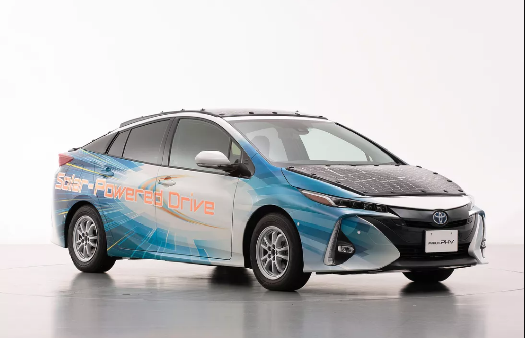 Toyota teams up with NEDO to release its first solar car
