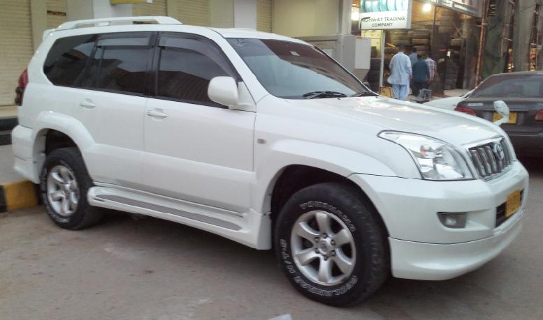 toyota prado 2004 price in pakistan review full specs images rh autos hamariweb com Toyota Land Cruiser Prado 2018 Toyota Land Cruiser Prado VX