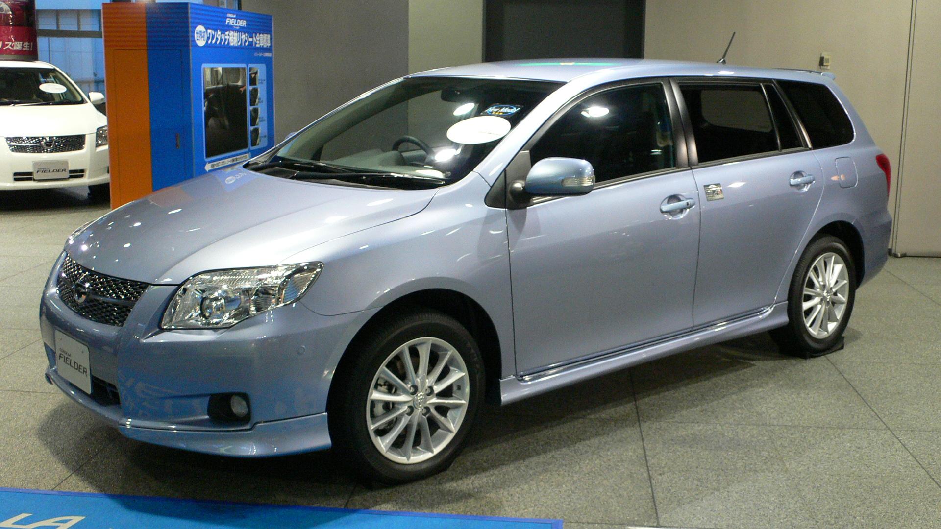Toyota Corolla Fielder   2007 ( PRICES U0026 SPECS )