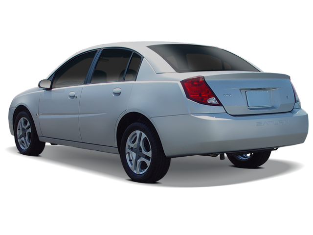 3/4 Front Glamour 2003 Saturn ION ...