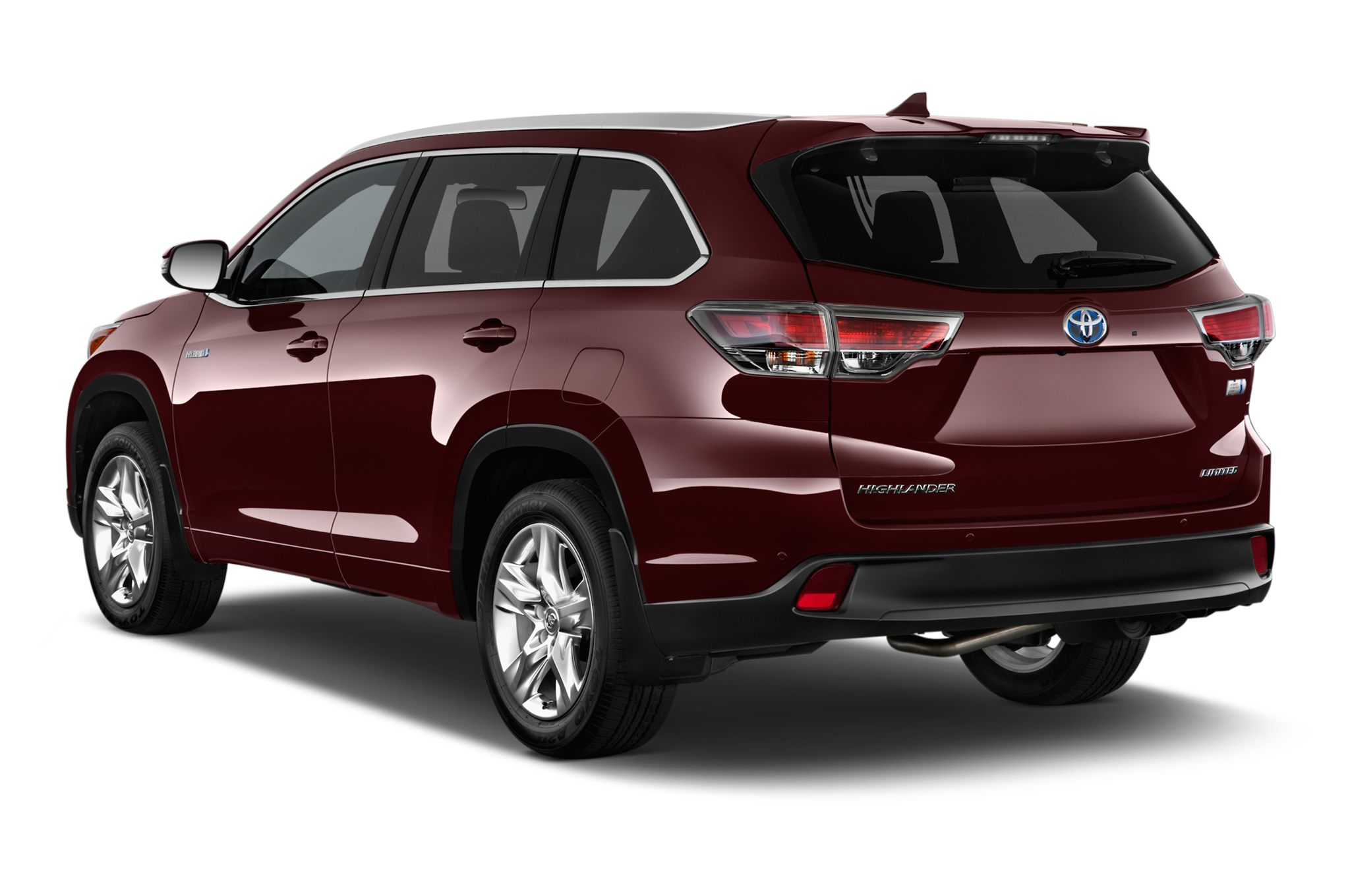 car review highlander reviews toyota xle rear ca wheels msrp