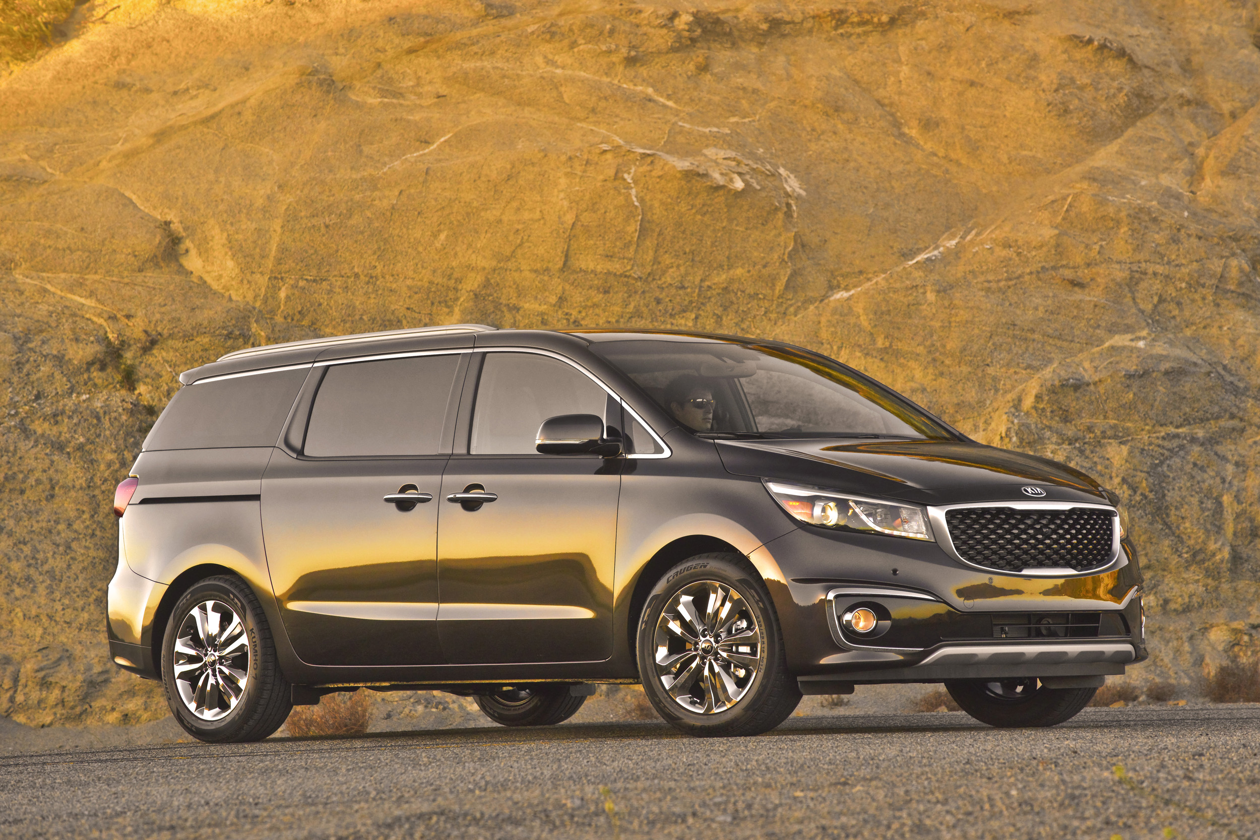 kia sliding camping open sedona not rave adventure your doors ex grandmas minivan review our