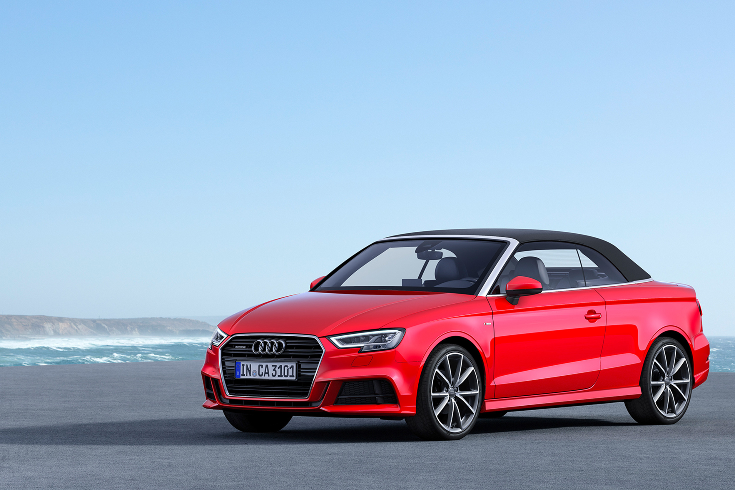 International AUDI SPORTS CARS. Audi A3 CABRIOLET   2018